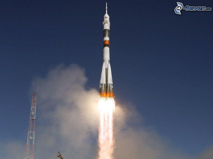 launch of rocket