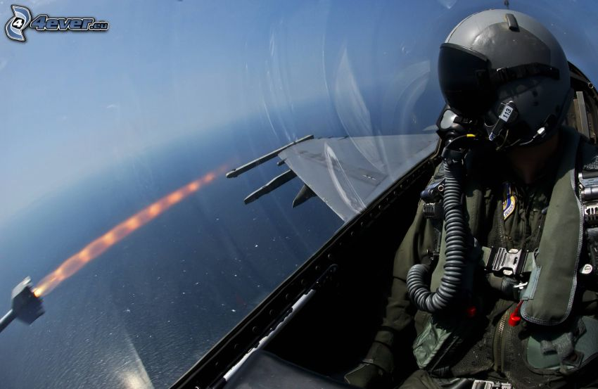 pilot, fighter