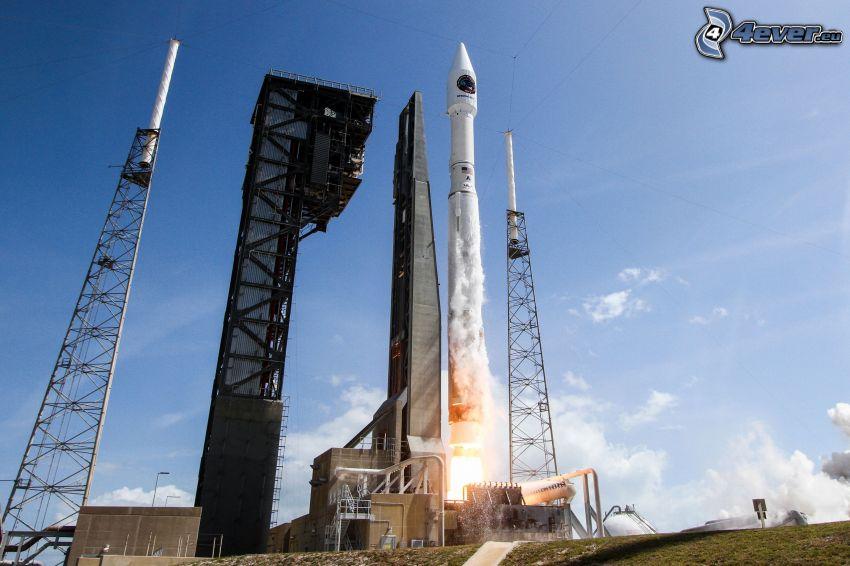 Atlas V, launch of rocket