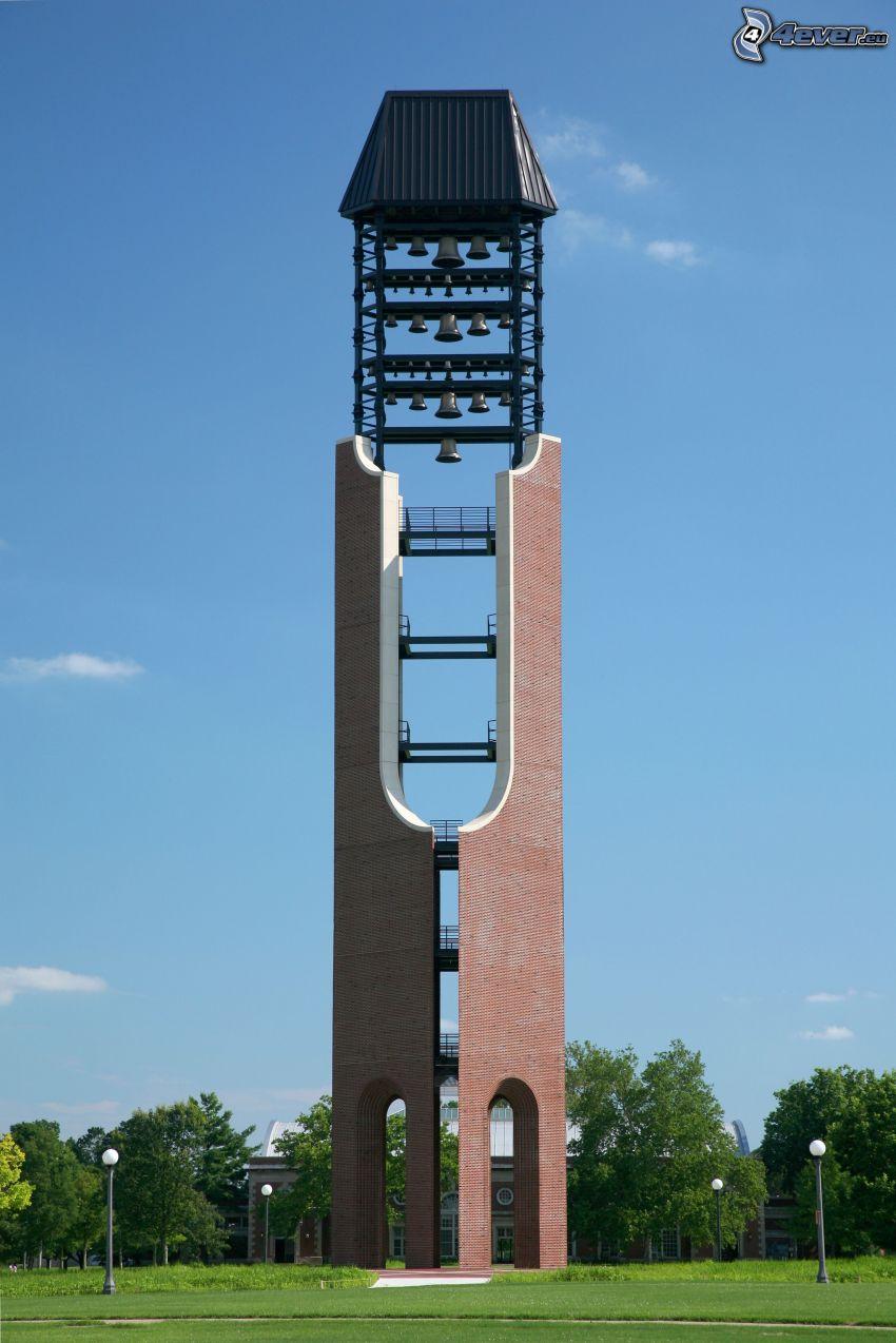 bell tower, park