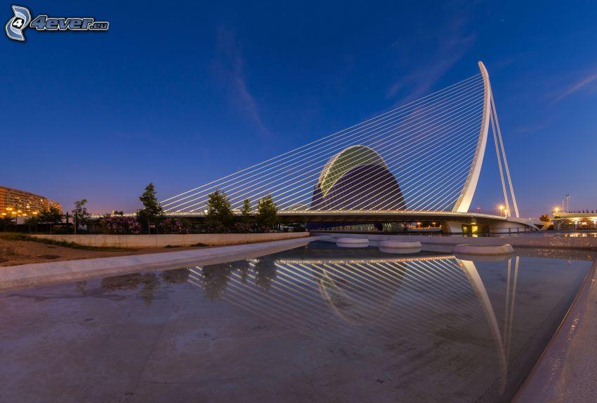 Assut de l'Or Bridge, reflection