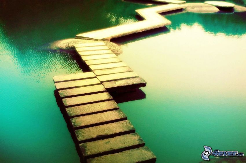 pier, water