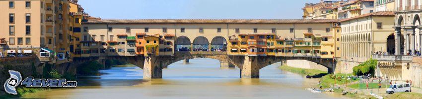 Ponte Vecchio, Florence, Arno, River, bridge