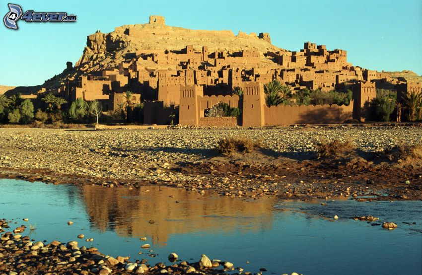 Ait Benhaddou, River