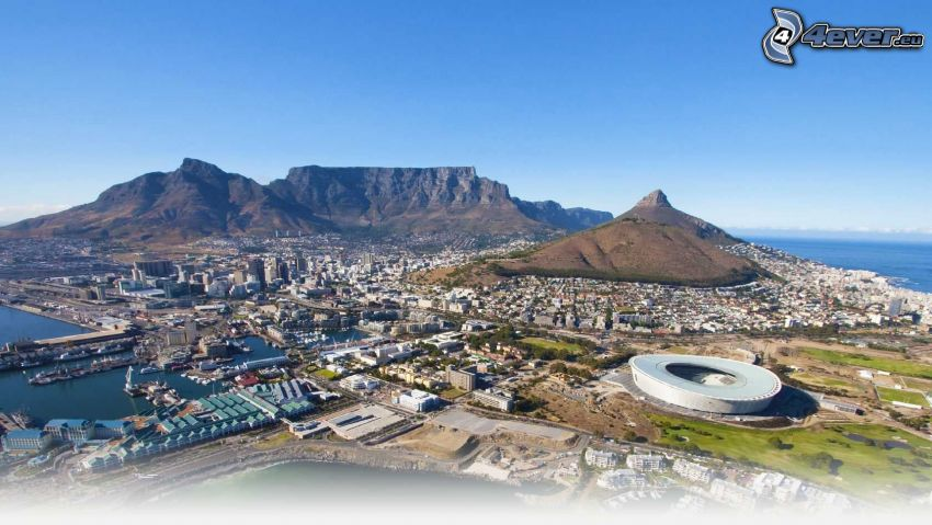Cape Town, Cape Town Stadium, seaside town