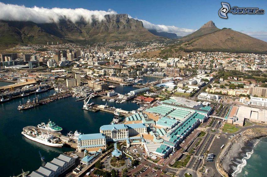 Cape Town, harbor