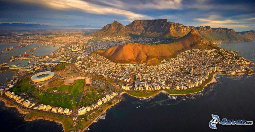 Cape Town, seaside town, Cape Town Stadium