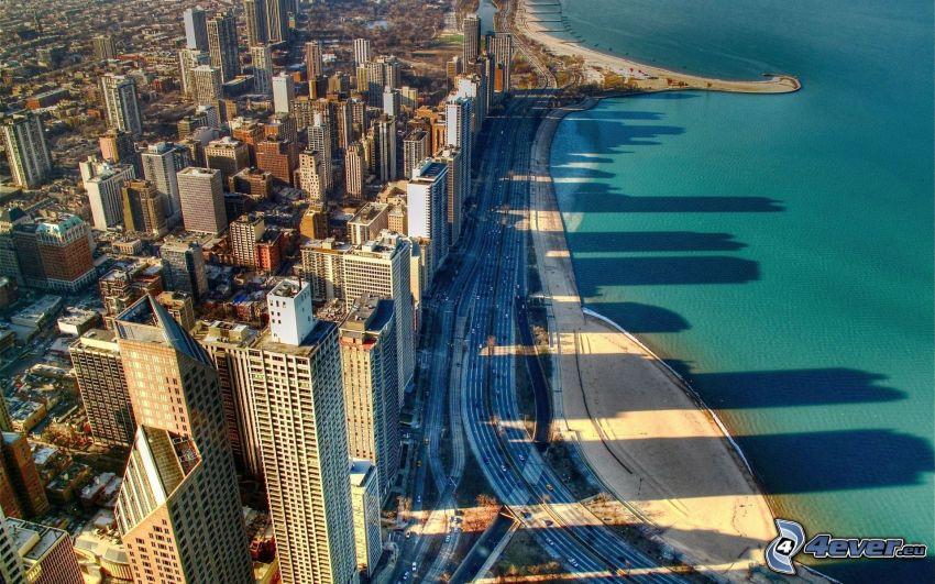 Chicago, coast