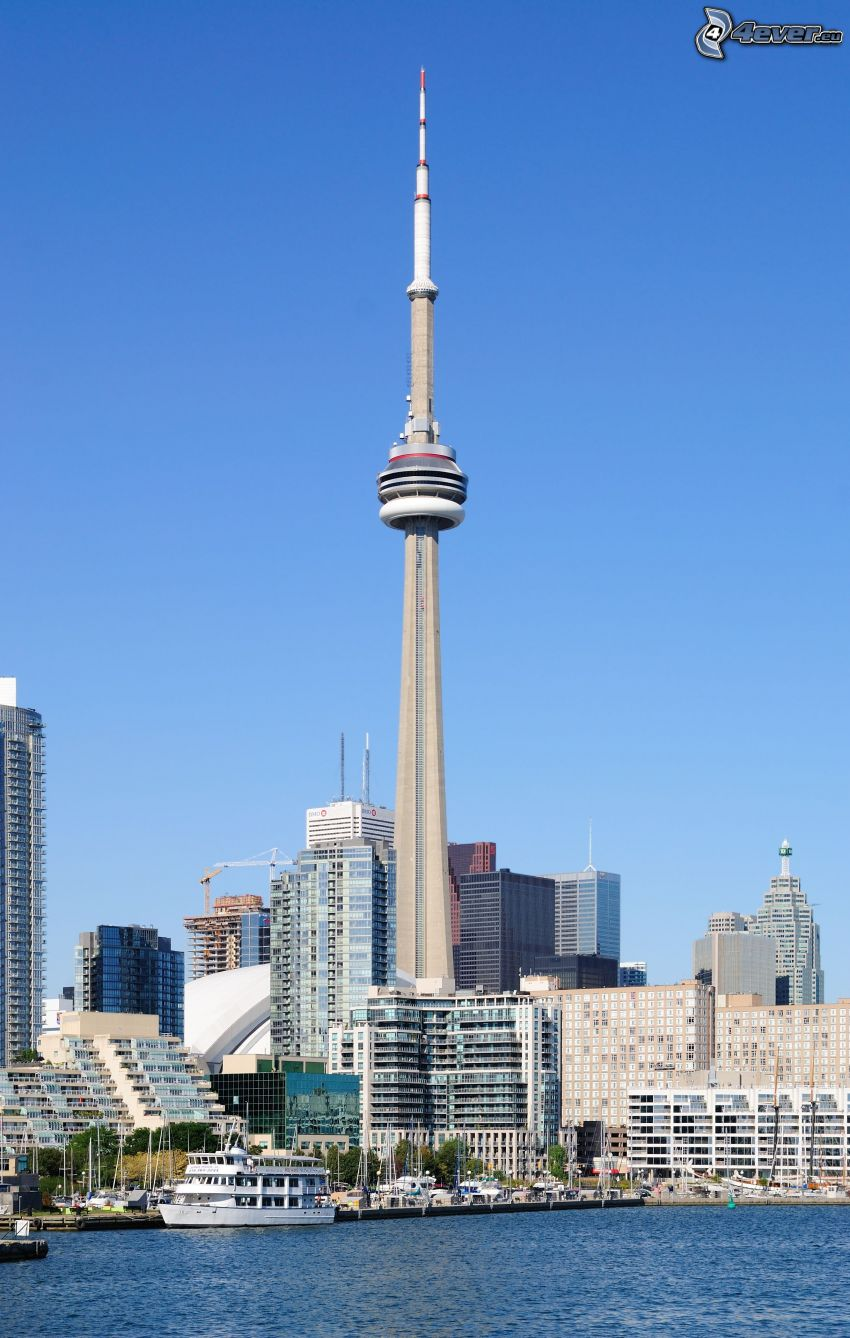 CN Tower, Toronto, skyscrapers