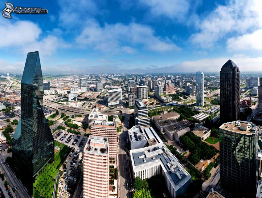 Dallas, skyscrapers