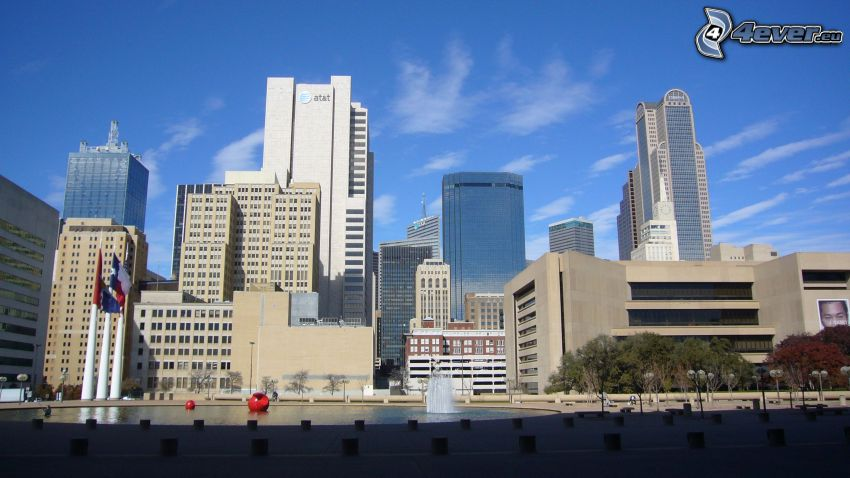 Dallas, skyscrapers