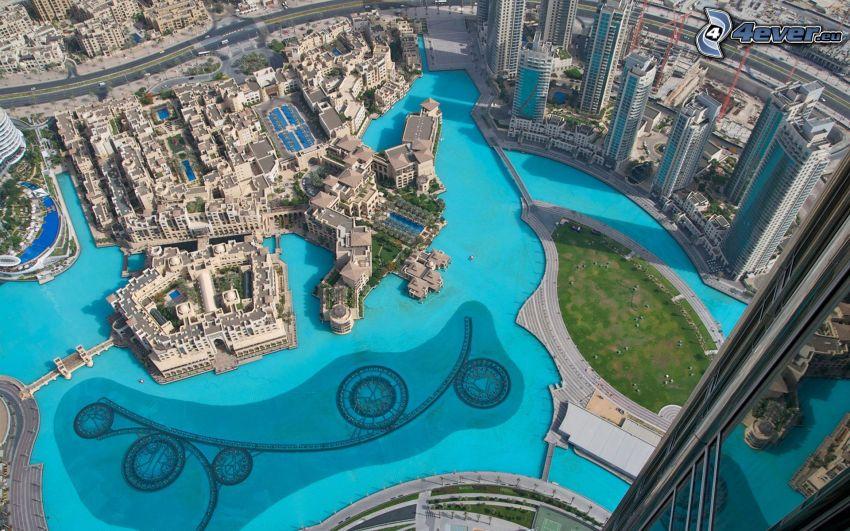 Dubai, skyscrapers
