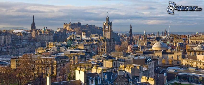 Edinburgh, church tower