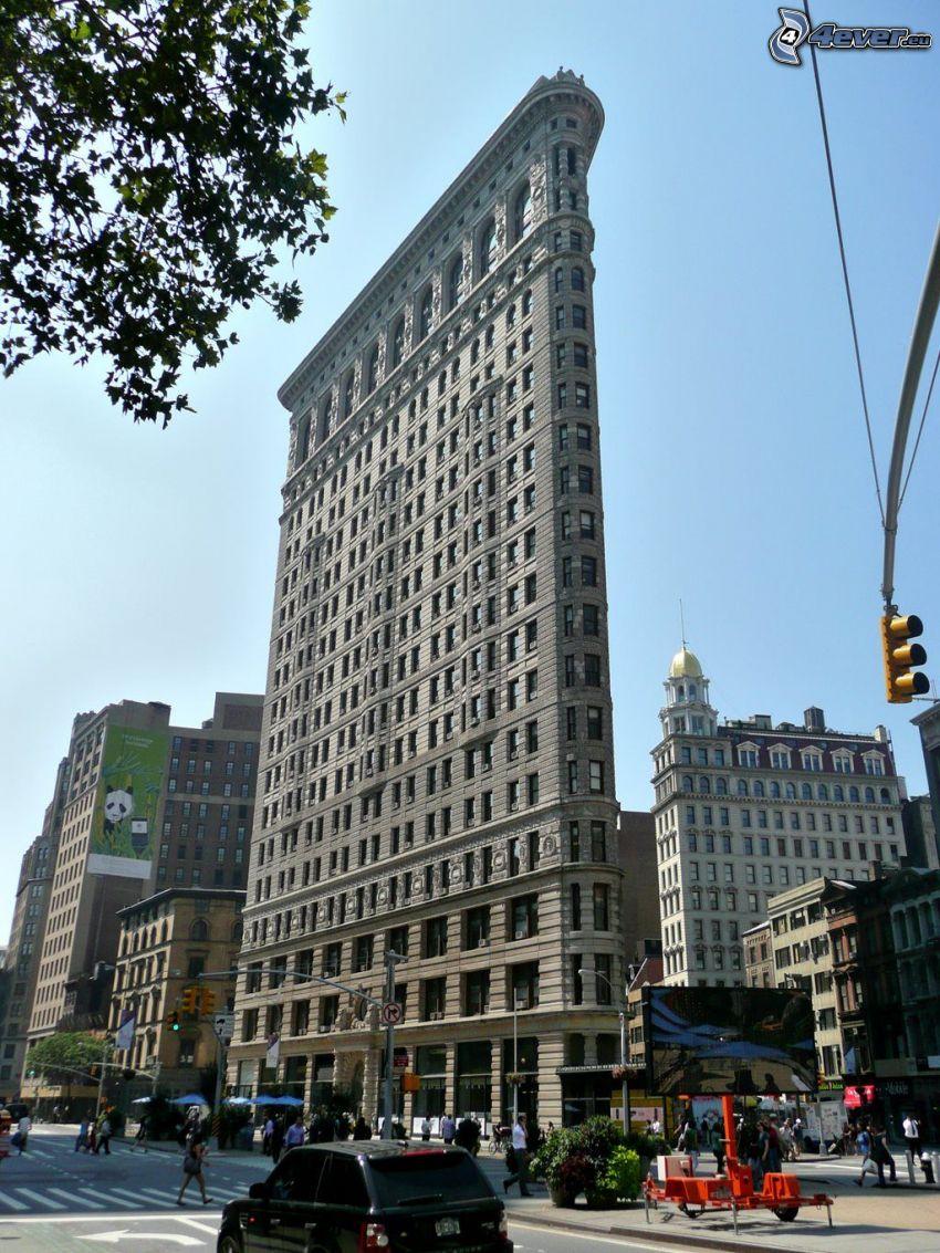 Flatiron, Manhattan, street