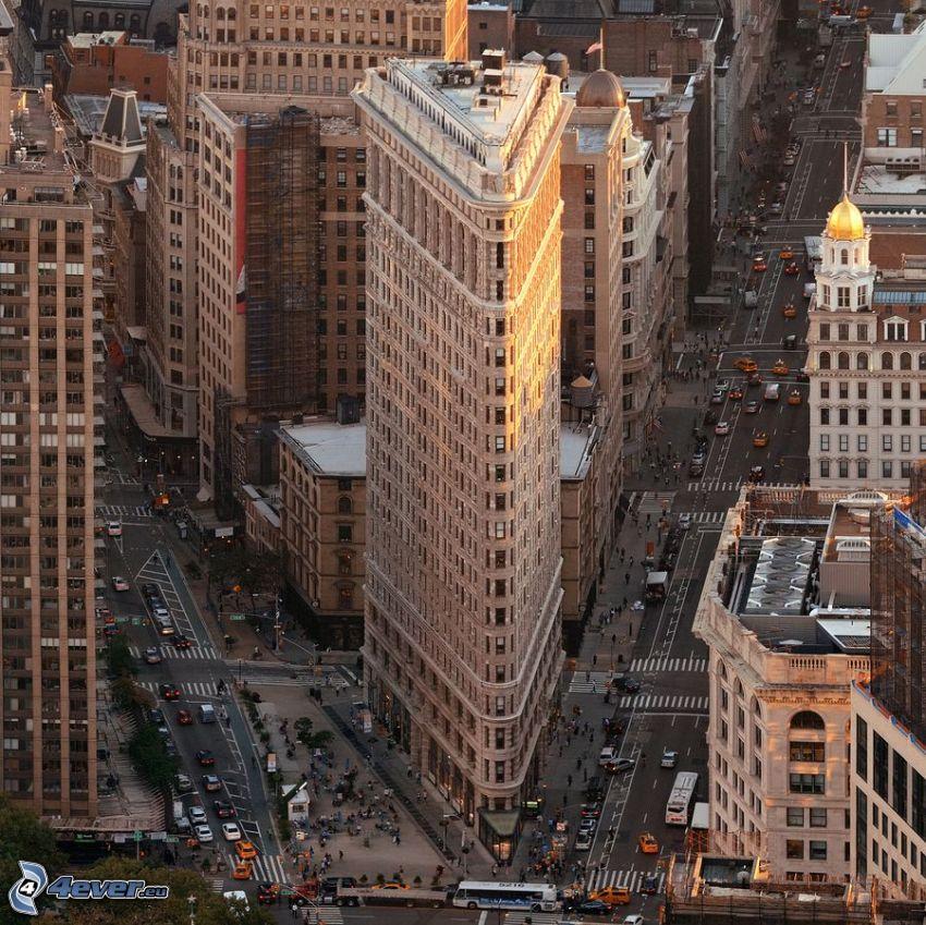 Flatiron, Manhattan, streets