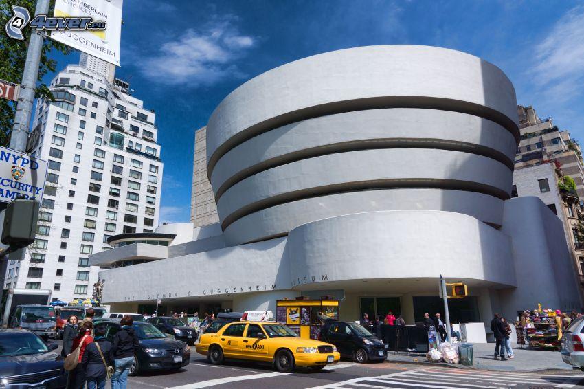 Guggenheim Museum, street