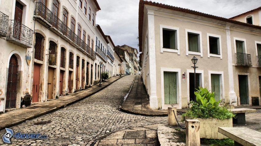 houses, street