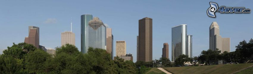 Houston, skyscrapers