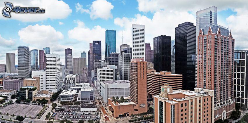 Houston, skyscrapers