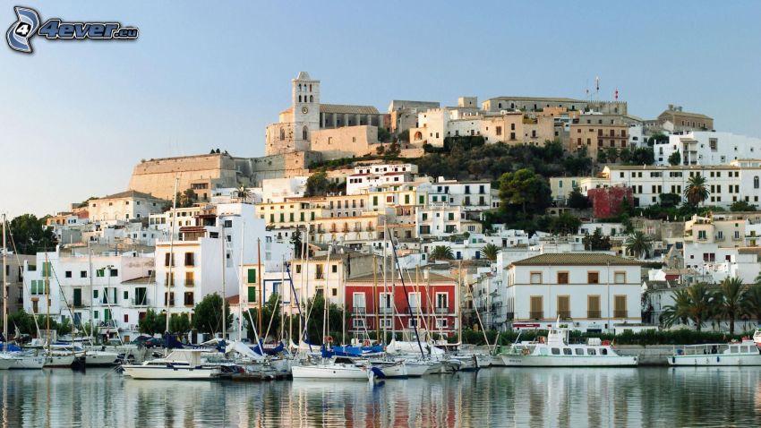 Ibiza, seaside town