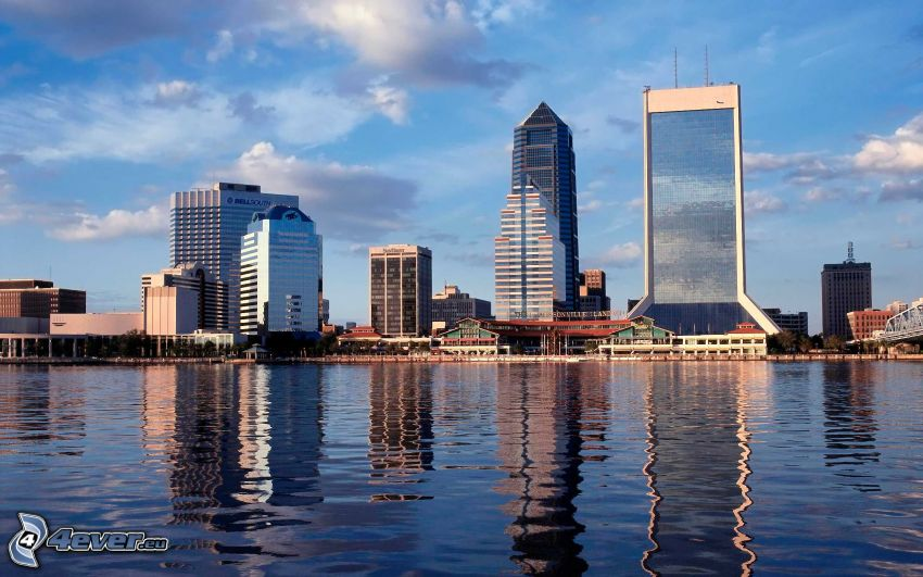 Jacksonville, skyscrapers