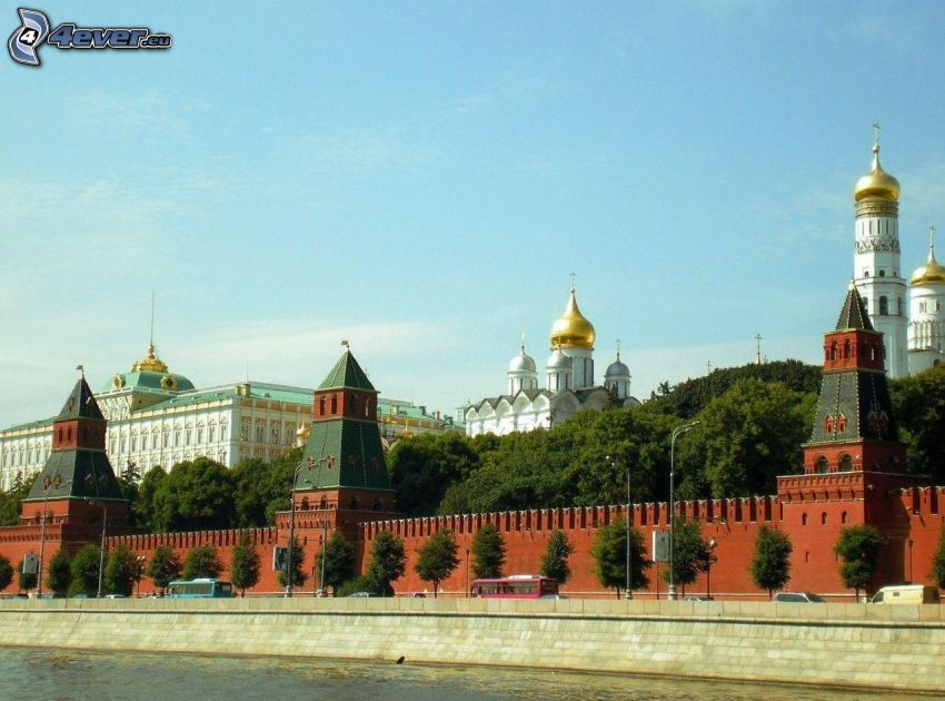 Kremlin, Moscow, waterfront
