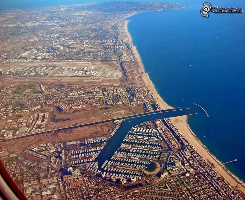 Marina Del Rey, harbor, California