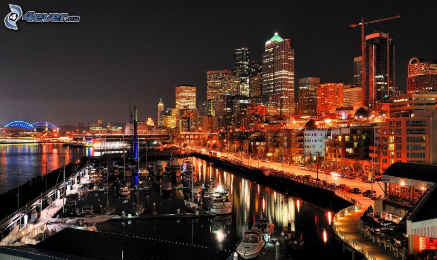night city, marinas