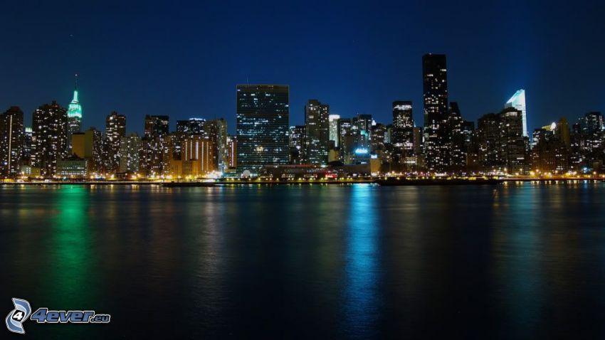 night city, River