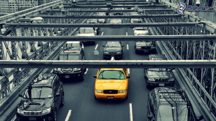 NYC Taxi, bridge