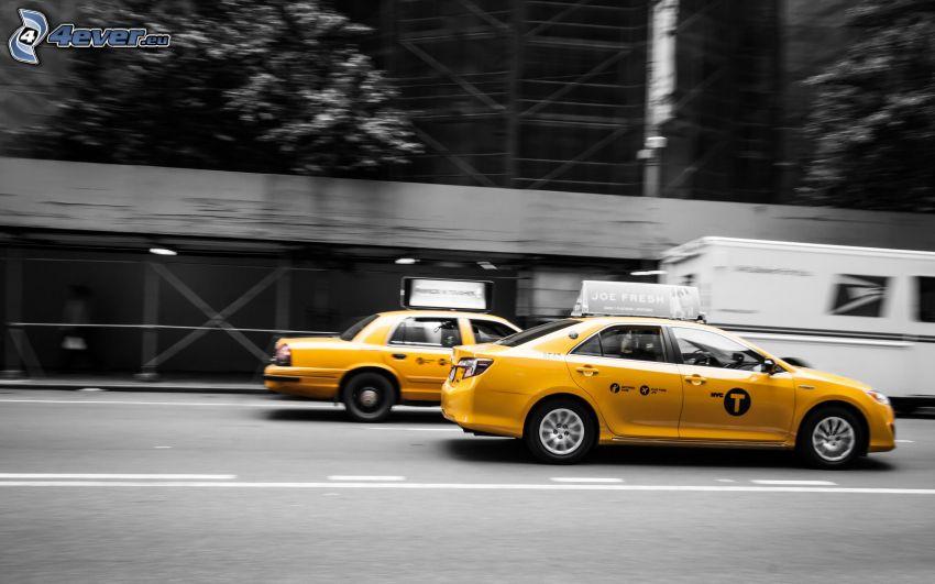 NYC Taxi, street