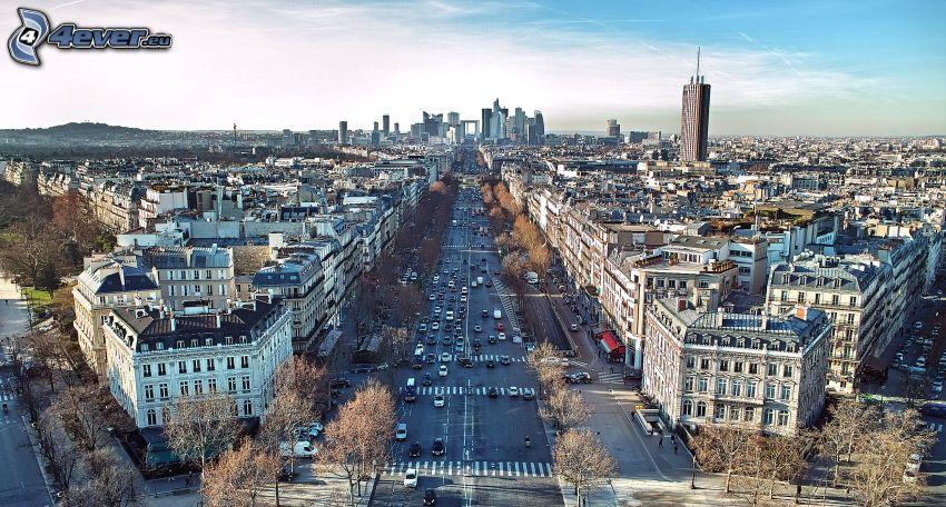 Paris, streets, La Défense