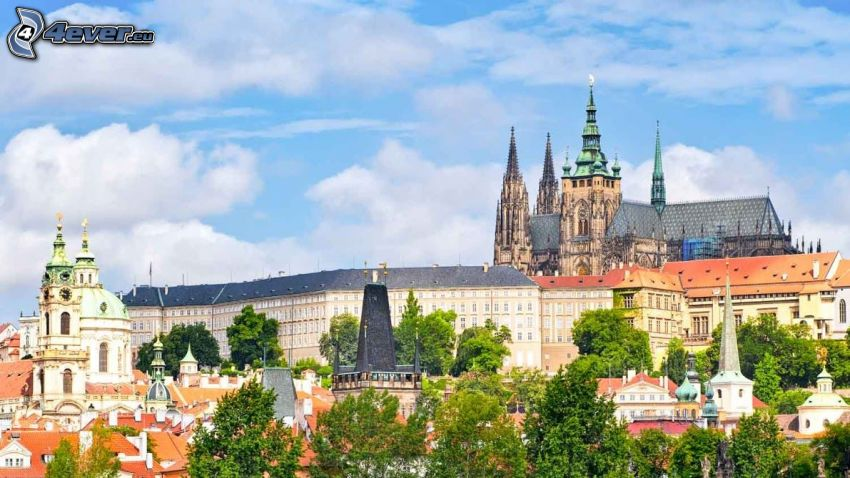 Prague, Prague Castle, HDR