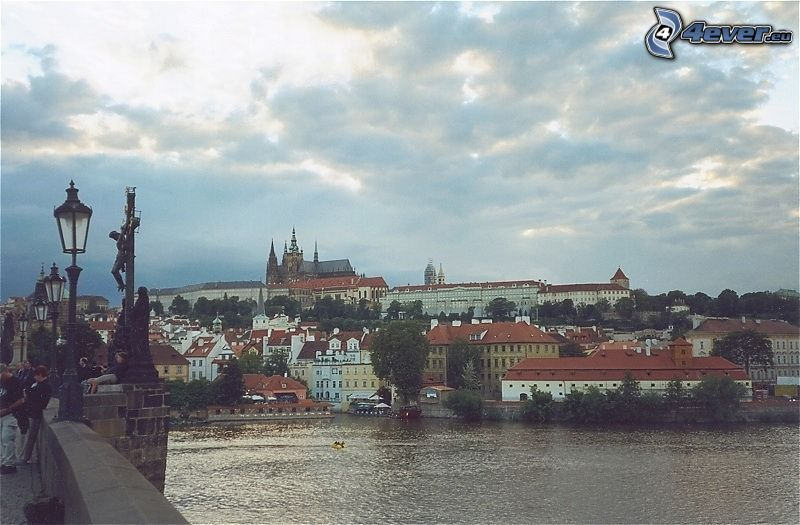 Prague Castle, Prague, Vltava