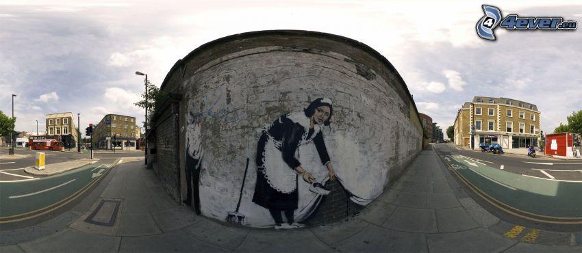 road, graffiti