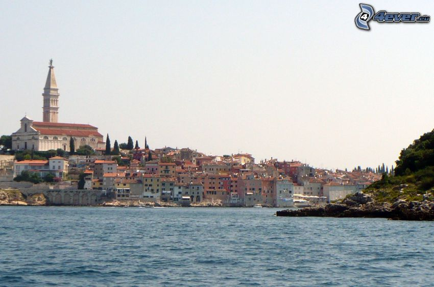 Rovinj, Croatia, sea