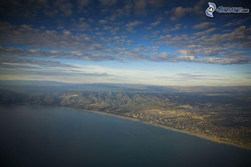Santa Monica, Hollywood Hills, Los Angeles, California, USA