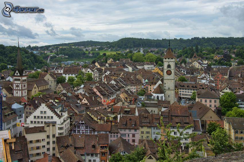 Schaffhausen, church tower