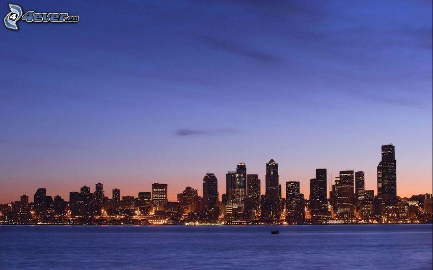 Seattle, skyscrapers