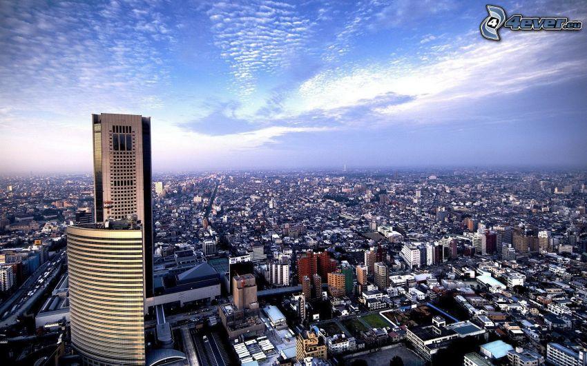 Tokyo, skyscraper