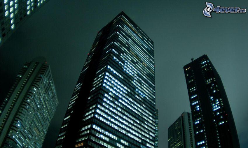 Tokyo, skyscrapers