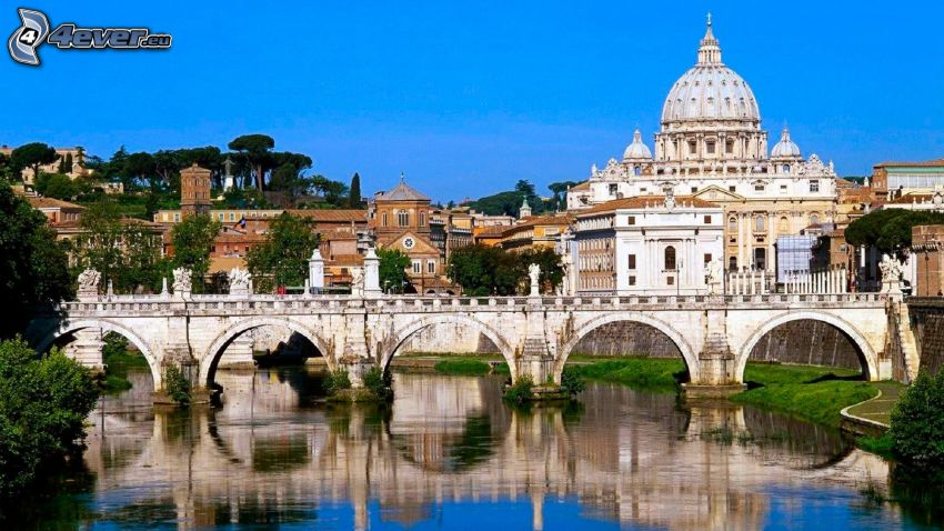 Vatican City, bridge