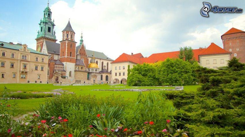 Wawel castle, Kraków, courtyard