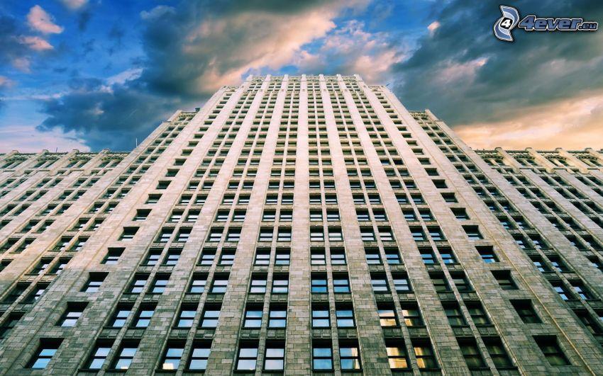Empire State Building, New York, skyscraper