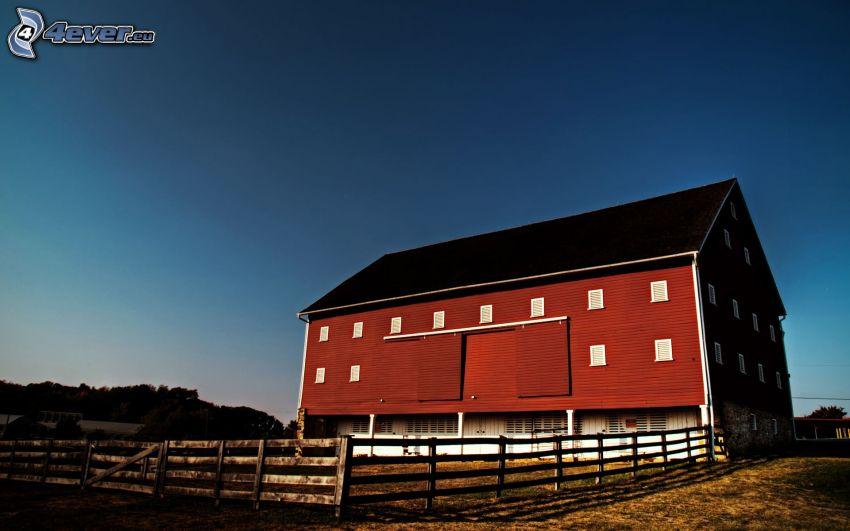 farm, palings