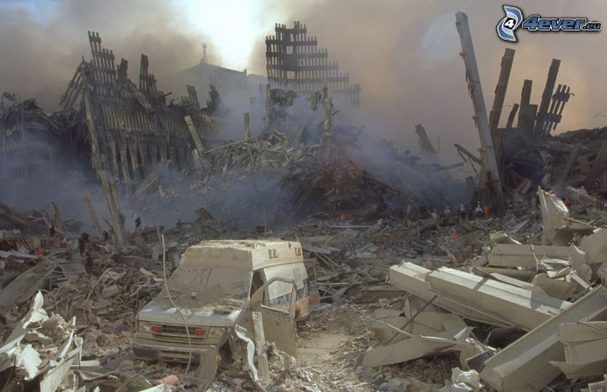 Ground Zero, ruins