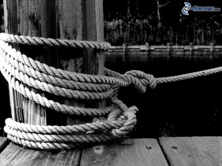 harbor, rope