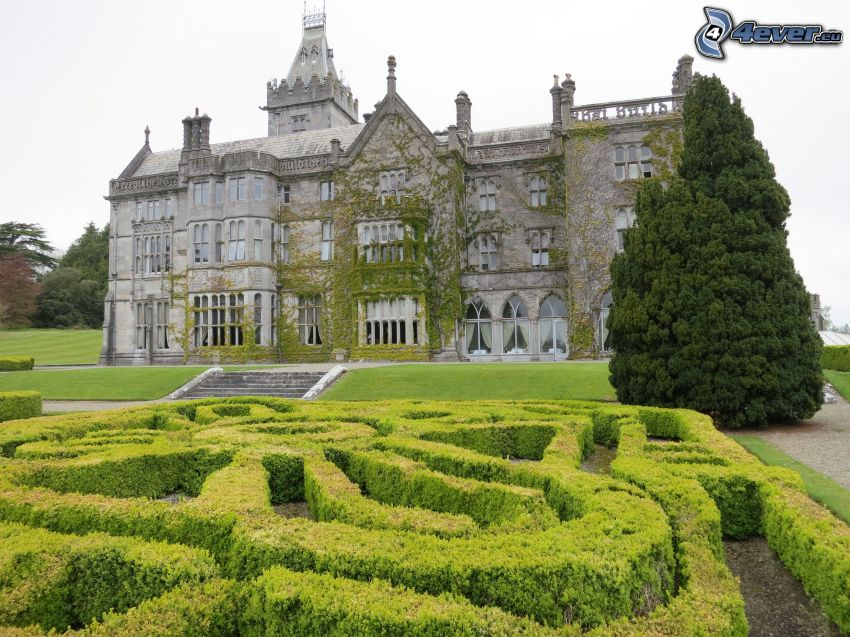 Adare Manor, hotel, garden