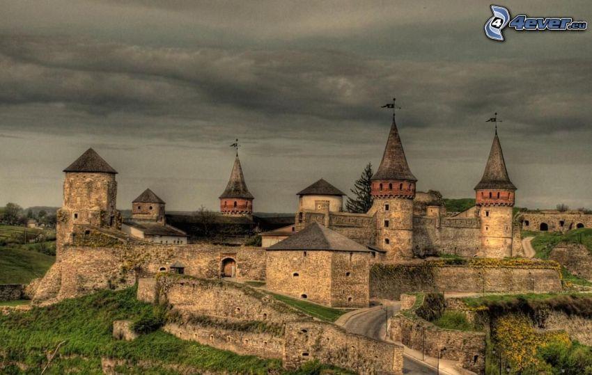 castle, HDR