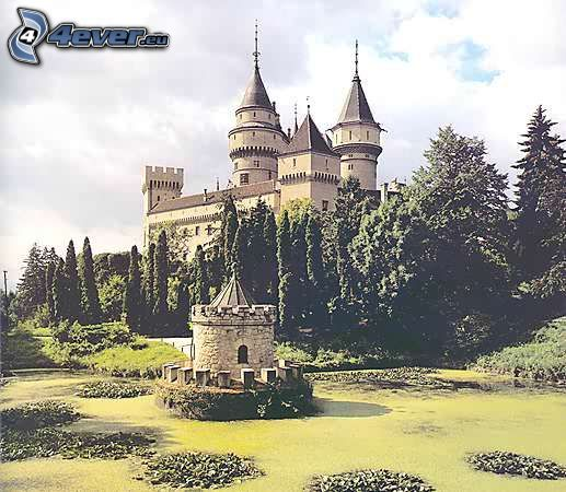 castle Bojnice, castle, monument